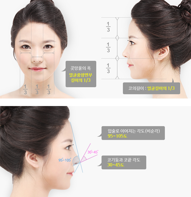 BK Plastic Surgery Hospital's Ideal Nose Shape
